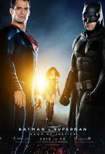 Batman v. Superman movie poster