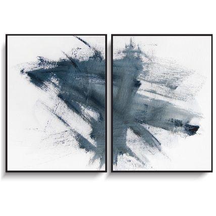 "Northern story ART 7 ""BLUE"" 2-pack 50x70cm"