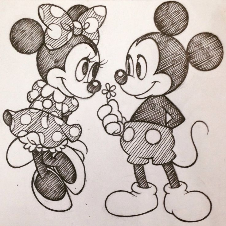 Mickey and Minnie by SAkURA-JOkER on DeviantArt