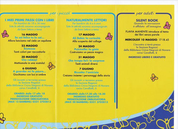 Nati per leggere: a maggio e giugno a Novara appuntamenti per grandi e piccini! http://libriscrittorilettori.altervista.org/nati-leggere-maggio-giugno-a-novara-appuntamenti-grandi-piccini/ #natiperleggere #novara #bambino