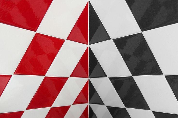 G. Legnaro - Geometrie angolari. Idee per chi vuole #arredare casa con i toni del #rosso.  #arredamento #interiordesign #homedecor #pixtury
