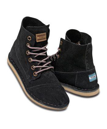 TOMS suede tomboy boot
