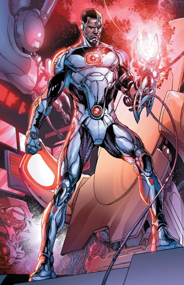 DC-COMIC - Cyborg (Victor Stone) - THE NEW TEEN TITANS (1980)/YOUNG JUSTICE/ JUSTICE LEAGUE OF AMERICA