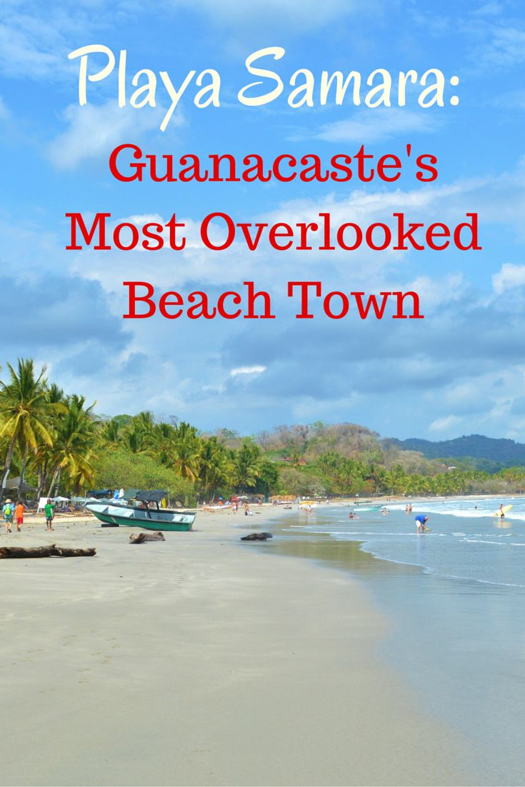 Guide to visiting the awesome beach town of Samara, Costa Rica. We love Samara for its many beautiful beaches, local vibe, surrounding rainforest, and excellent restaurants and beach bars. Check out our tips for where to stay and eat and what to do.