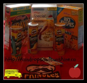 We received a box stuffed full of Kellogg's latest new andimproved products, my kids always look forward to the Kellogg's boxarriving, and it came just in time for whenmy kids were getting ready to go back to school. Pringles Tortilla To dip or not to dip? That's the question! New Pringles Tortillas - pair them with your favourite salsa, guacamole, or enjoy them just as they are! These deliciously crunchy corn chips are so flavourful dipping is optional. Try all three flavours! ...
