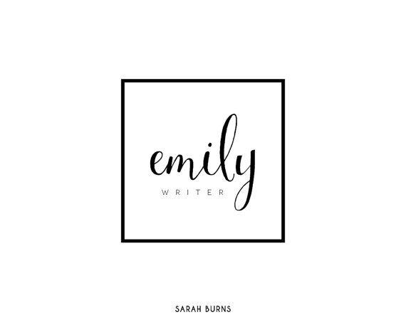 Vorgefertigten Logo-Design Fotografie-Logo von SarahBurnsPrints