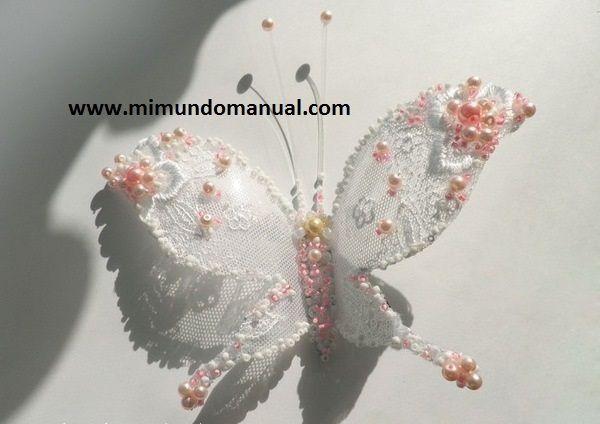 Mariposas de plástico ~ Mimundomanual