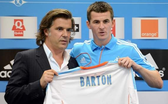 Joey Barton - Olympique de Marseille, from QPR, 2012