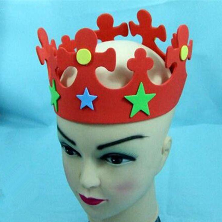 Красочный День Рождения Hat Дети Корона Шляпы Ребенка День Рождения Производительность Партия Поставки