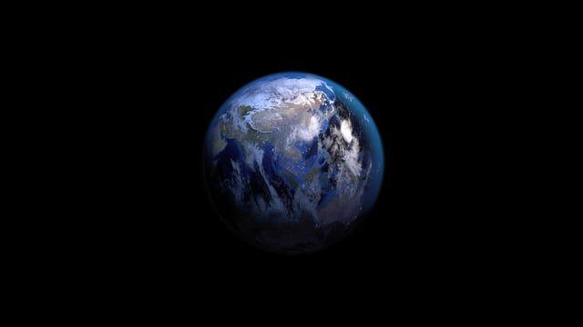 Tierra, Animación, Revolución, Planeta