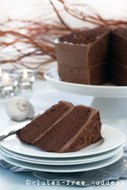 152 best gluten free holiday baking images on pinterest gluten gluten free chocolate layer cake dairy free from gluten free goddess negle Image collections