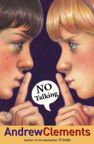 No Talking  Andrew Clements writes really wonderful school stories and they make great read alouds for kids in lower elementary school.