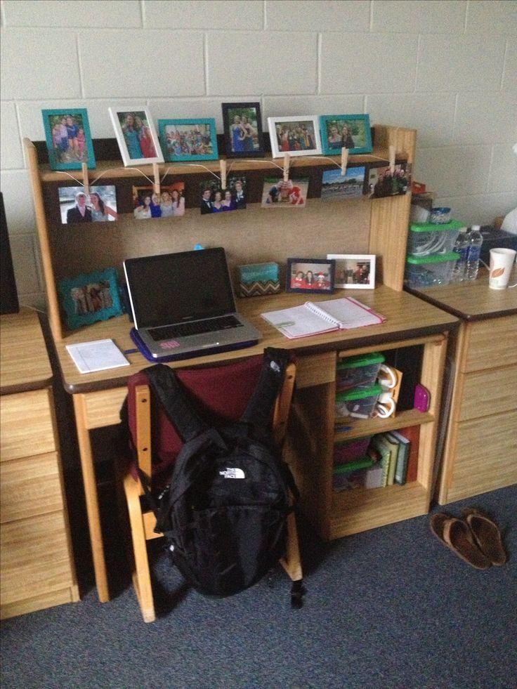 my dorm room desk sarah bennett pinterest will have. Black Bedroom Furniture Sets. Home Design Ideas