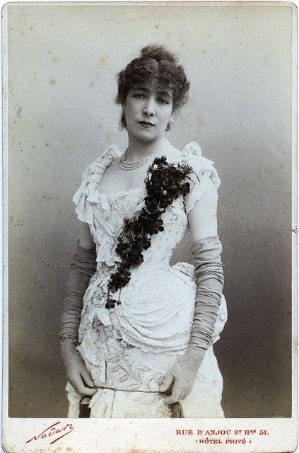 Paul Nadar - Sarah Bernhardt, 1878   Flickr - Photo Sharing!