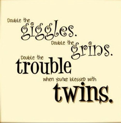 Birthday Sayings For My Twin Sister Twins We Heart It Dessert