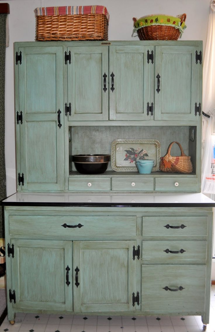 hoosier cabinets | Hoosier Cabinet! I am going to tackle mine and refinish it this coming summer!!