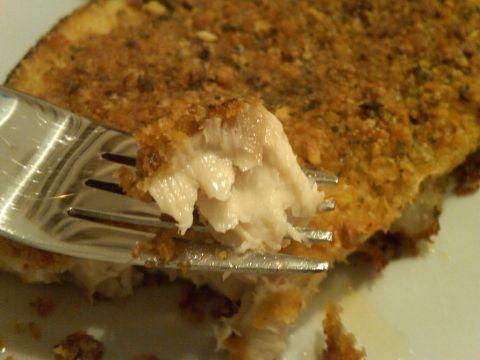 Delizioso Pesce spada in crosta di pistacchi -
