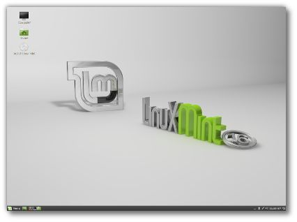 Linux Mint Cinnamon, based on Ubuntu with full Codec support and the classic style Cinnamon desktop, compatible to Gnome 3.