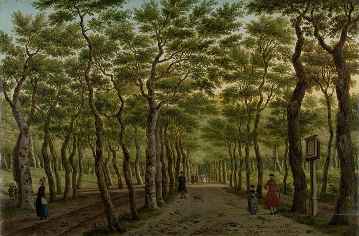 Week 32 The Herepad in the Haagse Bos, Paulus Constantijn la Fargue, 1778