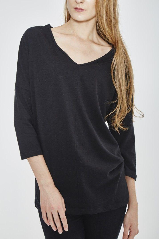 ORGANIC COTTON TUNIC #Tshirt #bio #coton #wenhua  #duverge #femme