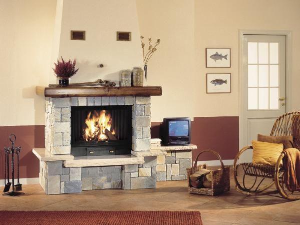 Este es una chimenea, es muy útil cuando hace frío en el invierno.