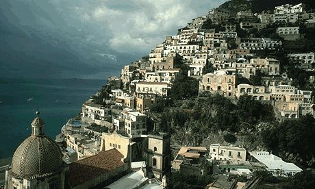 Hillside heaven: Amalfi Coast, Italy.  Been there.  Go there.  It's beautiful, as you can see.