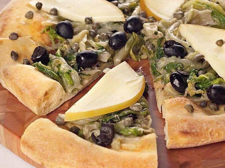 Ricetta Pizza con provola e scarola