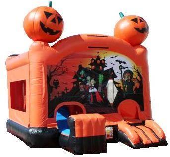 Pumpkin Halloween Bounce House Rental San Diego