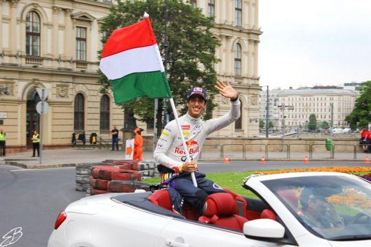 Dan Ricciardo, Australian racing driver #Budapest #redbullracing #formula1