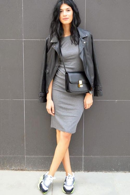 how to wear a moto jacket to work