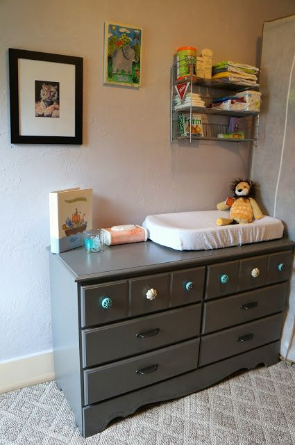 Nonchalant Living: Baby's Finished (Budget) Nursery
