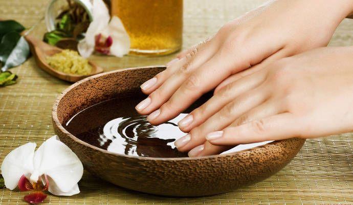 Очень полезная ванночка для укрепления ногтей