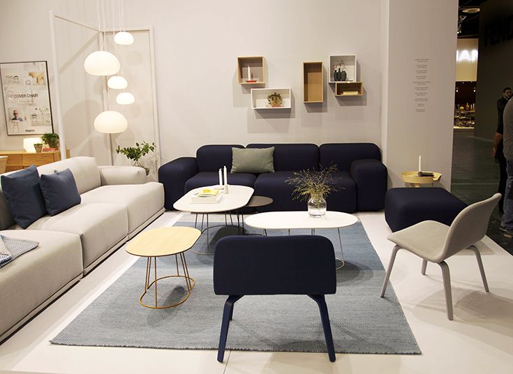Muuto at Orgatec Fair in Cologne - step into the Muuto living room.