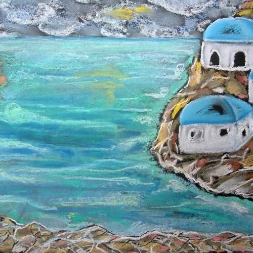 sucha pastel,,zatoka,,wykonane przez :Lidia