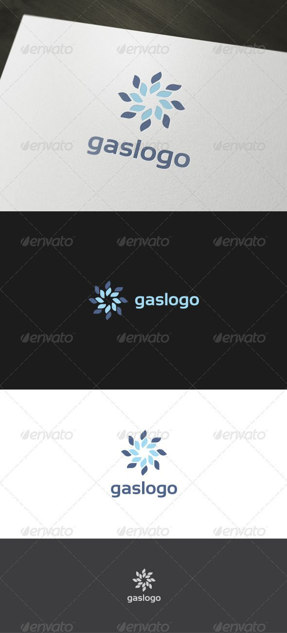 Gas Logo — Vector EPS #abstract #oil • Available here → https://graphicriver.net/item/gas-logo/884947?ref=pxcr