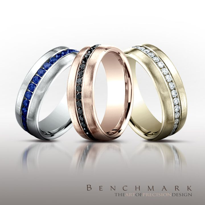band c com wedding satin centered bands polished goldenmine rings benchmark argentium m silver