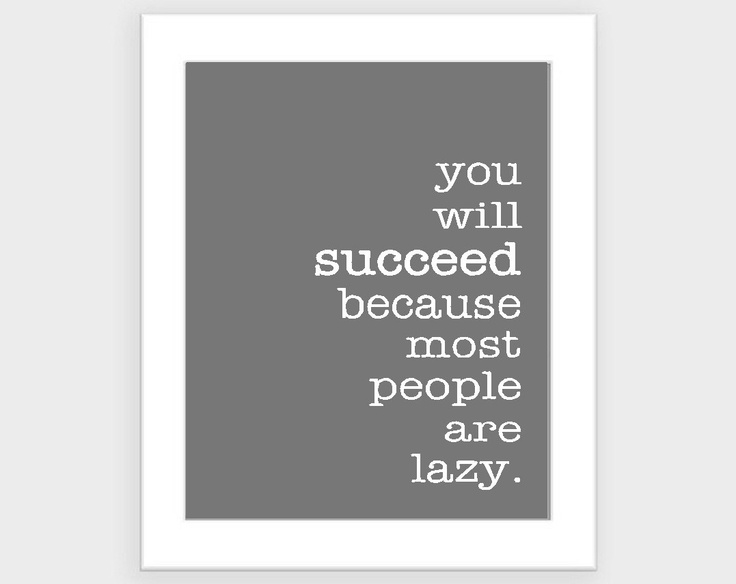 Modern funny quote- motivational art print- grey and white- custom ...