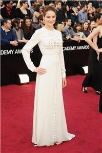 Poll (Open, Admin mode): What do you think of Shailene Woodley's Valentino number?  White-hot.  Not so hot.   Vote now: http://liveblogs.globalnews.ca/Event/Awards_Night
