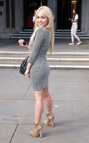 Jorgie Porter - Diane Vickers attends the Look Show 2012 held at the Royal Courts of Justice in London