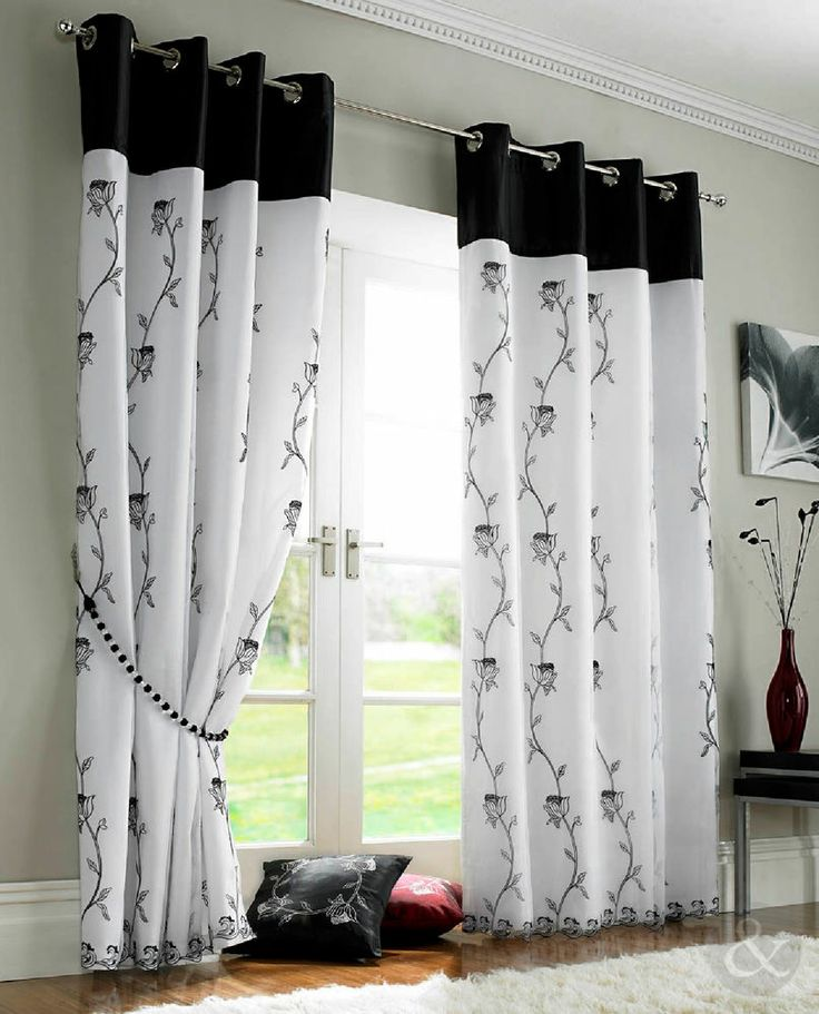 Best House Ideas Images On Pinterest Damasks Pelmets And - Ready made curtains white