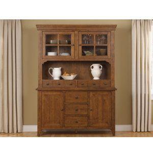 Liberty Furniture Hearthstone Buffet Hutch Set