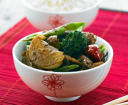 Sweet Chilli Vegemite Pork Stir Fry - Everyday Delicious Kitchen