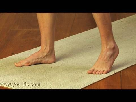 Yoga for flat feet....hecks ya!