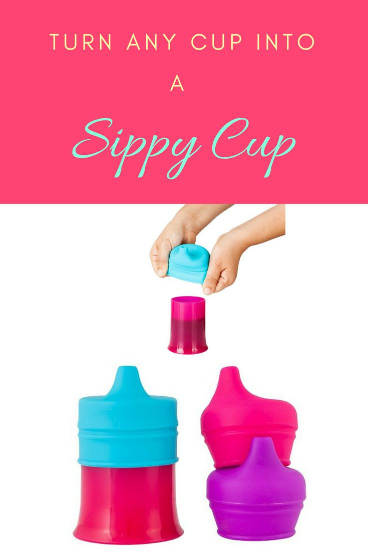 Turn any cup into a sippy cup! Make toddler meal and snack time easier. #affiliate #kids
