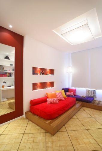 decoracao de interiores quartos de dormir:de quartos masculinos com papéis de parede são 60 fotos para