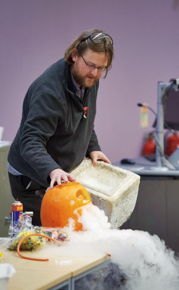 Creepy pumpkins - Manchester Science Festival