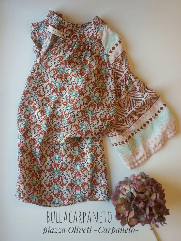 Spring summer collection flower #blusa #hippie #boho #style #summer #collection #girl #woman #love #shopping #shoponline #bullacarpaneto