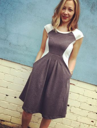 Sarah's Zadie dress - sewing pattern by Tilly and the Buttons