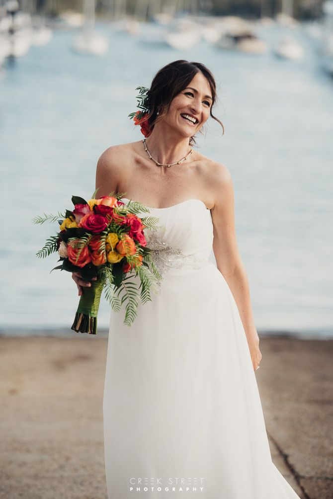 royal motor yacht club Wedding - Bride