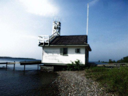 Boathouse Lake Ontario